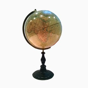Large Antique Swedish Globe from Wahlström & Widstrand and D. Reimers