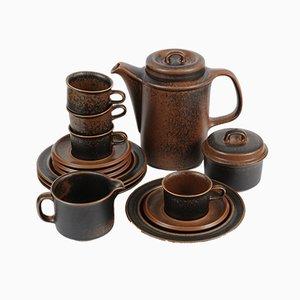 Ruska Kaffeeservice von Ulla Procope für Arabia, 1970er