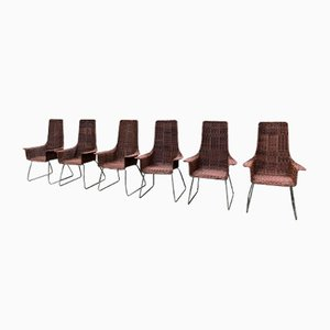 Armchairs, 1960s, Set of 6