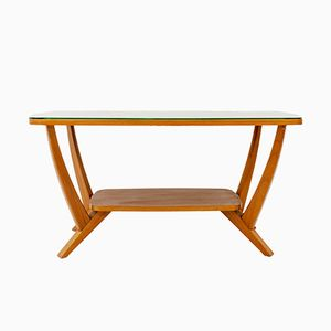 Vintage Beech Coffee Table