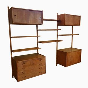 Teak Wall Unit from Cado, 1960s