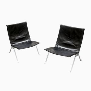 PK22 Chairs by Poul Kjærholm for E. Kold Christensen, 1950s, Set of 2