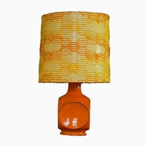Tischlampe aus Keramik von Cari Zalloni für Steuler, 1970er