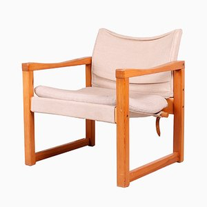 Diana Safari Armlehnstuhl von Karin Mobring für Ikea, 1970er