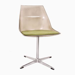Plexiglass Swivel Chair, 1970s
