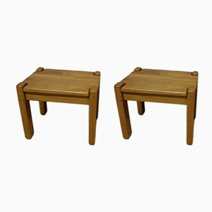 Vintage Nightstands or Side Tables, Set of 2