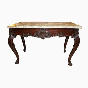 Antique Rosewood Console from Lemarchand