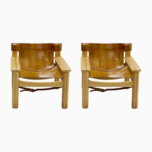 Natura Safari Lounge Chairs by Karin Mobring for Ikea, 1977, Set of 2