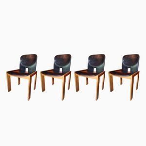 Chaises Modèle 121 par Afra & Tobia Scarpa pour Cassina, 1960s, Set de 4