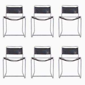 SE18 Dining Chairs by Bataille & Ibens for 't Spectrum Holland, 1970s, Set of 6