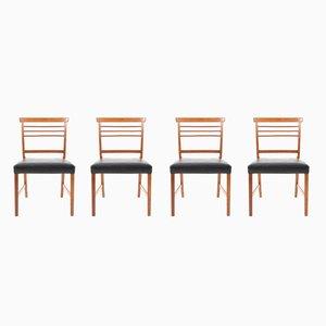 Chaises de Salle à Manger par Ole Wanscher pour A.J. Iversen, 1960s, Set de 4