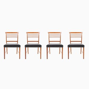 Esszimmerstühle von Ole Wanscher für A.J. Iversen, 1960er, 4er Set
