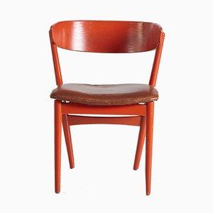 Sillas auxiliares No. 7 de Helge Sibast para Sibast Furniture, años 60