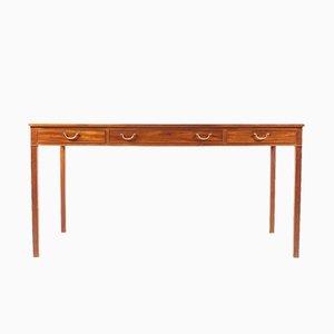 Vintage Schreibtisch von Ole Wanscher für A.J. Iversen