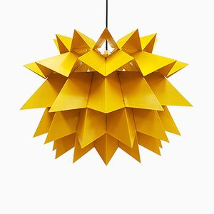 Star Light Pendant by Anton Fogh Holm & Alfred J Andersen for Nordisk Solar, 1960s