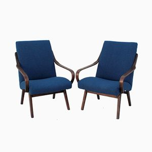 Armchairs from Thonet, 1960s, Set of 2