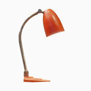 Red Desk Lamp from Gispen, 1920s