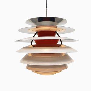Vintage PH Kontrast Deckenlampe von Poul Henningsen für Louis Poulsen