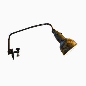 Lámpara de mesa vintage de grapa de Johan Petter Johansson para Triplex Fabriken