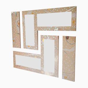 Modularer Giant Odissea Spiegel mit Mosaik von Luisa Degli Specchi