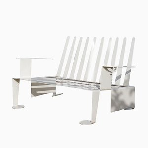 White Metal Bench, 1989