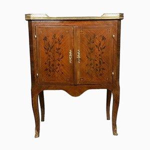 Mueble de marquetería francés vintage