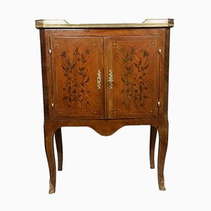 Vintage French Marquetry Cabinet