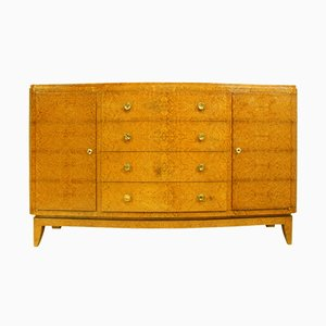 Art Deco Amboyna Sideboard by Liane Flamant, 1930s