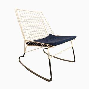 Rocking Chair Flamingo Vintage par Cees Braakman pour Pastoe