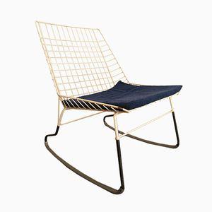 Vintage Flamingo Rocking Chair by Cees Braakman for Pastoe