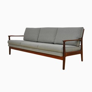 Mid-Century Danish Convertible Sofa, 1960s