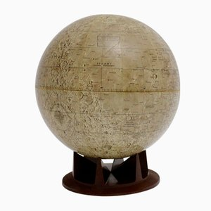Naumann Lunar Globe from Replogle, 1970s