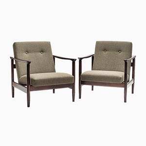 GFM-142 Armchairs by Edmund Homa, 1960s, Set of 2