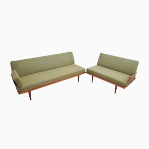Vintage Minerva Daybeds by Peter Hvidt & Orla Mølgaard-Nielsen for France & Søn, Set of 2