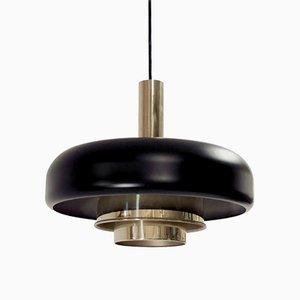 Lámpara de techo escandinava de Jonas Hidle para Høvik Verk, años 60