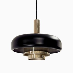 Scandinavian Ceiling Light by Jonas Hidle for Høvik Verk, 1960s