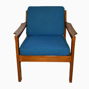 Blue Easy Chair, 1960s