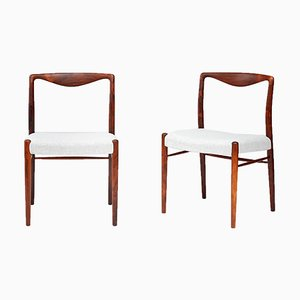 Rosewood Side Chairs by Kai Lyngfeldt-Larsen for Søren Willadsen Møbelfabrik, 1960s, Set of 2