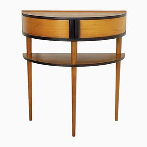 Table Console en Merisier, 1970s
