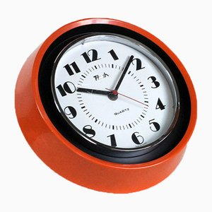 Vintage Orange Clock from Flash