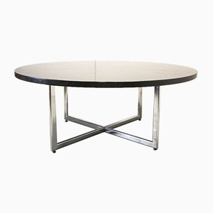 Large Round Conference Dining Table by Martin Visser, 1970s