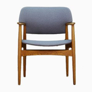 Vintage Danish Armchair from Fritz Hansen