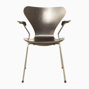 Black Butterfly Chair by Arne Jacobsen for Fritz Hansen, 1987