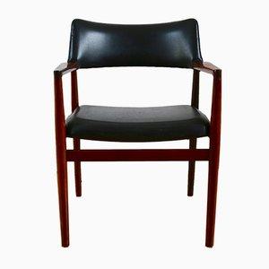 Dänischer Armlehnstuhl aus Palisander von Erik Wørts für Sorø Stolefabrik, 1960er