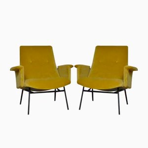 SK 660 Armchairs by Pierre Guariche for Steiner, 1953, Set of 2