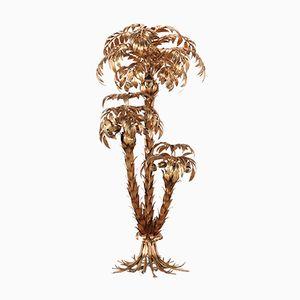 Lampada da terra a forma di palma di Hans Kögl, anni '70