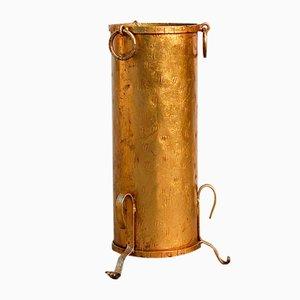 Vergoldeter Vintage Schirmständer