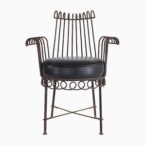 Mid-Century Stuhl von Mathieu Matégot, 1950er