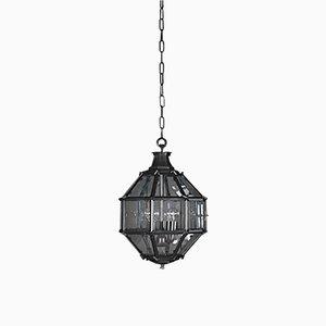 Mid-Century Black Trastevere Lantern