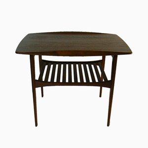 Table d'Appoint en Teck par Tove & Edvard Kindt-Larsen pour France & Søn, 1956
